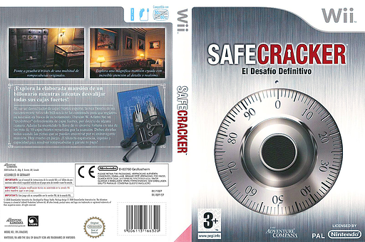 Safecracker: El Desafío Definitivo Wii cover (RQFP6V)