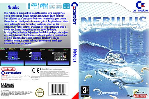Nebulus pochette VC-C64 (C94P)