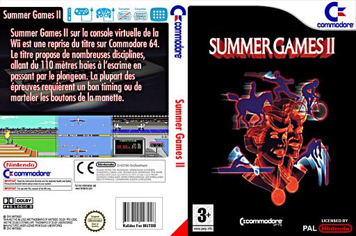 Summer Games 2 pochette VC-C64 (C96P)