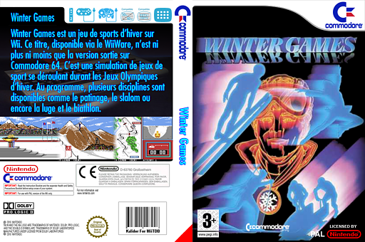 Winter Games pochette VC-C64 (C9EP)