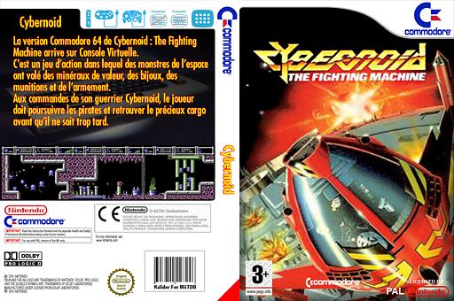Cybernoid pochette VC-C64 (C9IP)