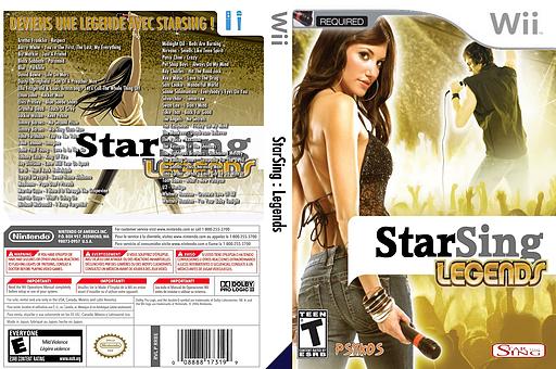 StarSing:Legends v2.1 pochette CUSTOM (CT4P00)