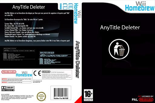 AnyTitle Deleter pochette Homebrew (DATA)