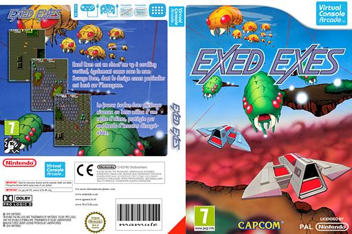 Exed Exes pochette VC-Arcade (E56P)