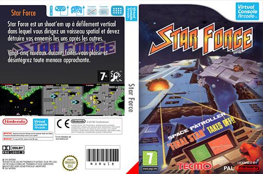 Star Force pochette VC-Arcade (E6ZP)