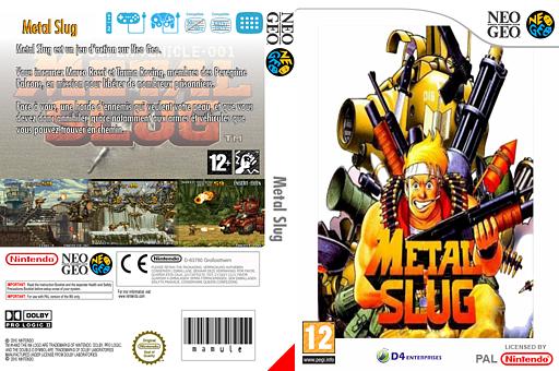 Metal Slug pochette VC-NEOGEO (EAJP)