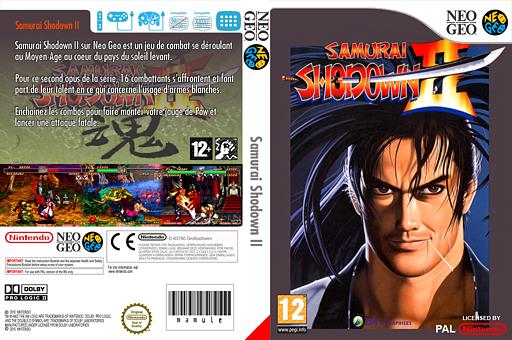 Samurai Shodown II pochette VC-NEOGEO (EASP)