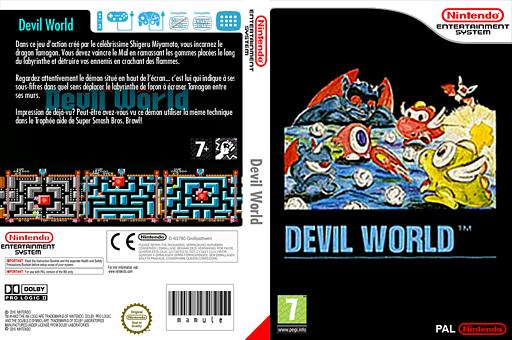 Devil World pochette VC-NES (FA4P)