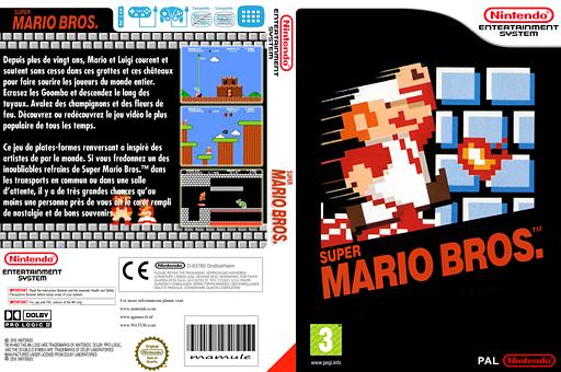 Super Mario Bros. pochette VC-NES (FAGP)