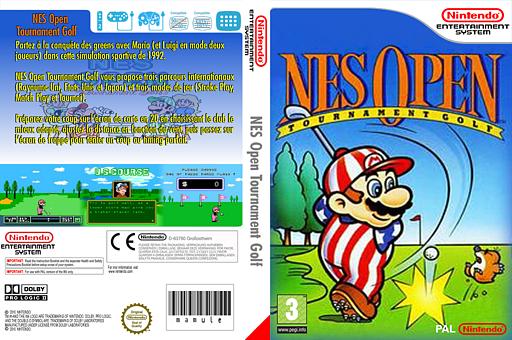 NES Open Tournament Golf pochette VC-NES (FAPP)