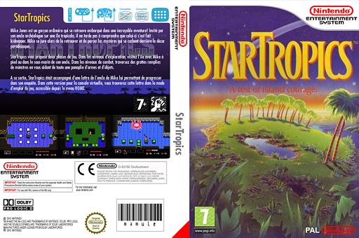 StarTropics pochette VC-NES (FC6P)