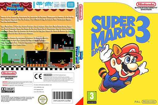 Super Mario Bros. 3 pochette VC-NES (FCWP)