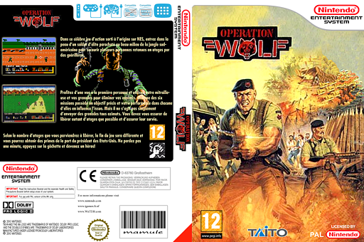 Operation Wolf pochette VC-NES (FDOP)
