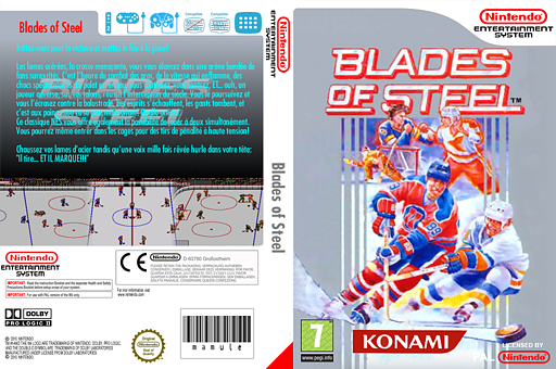 Blades of Steel pochette VC-NES (FDPP)