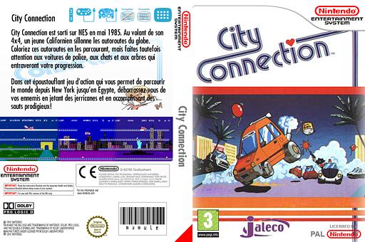 City Connection pochette VC-NES (FEIP)