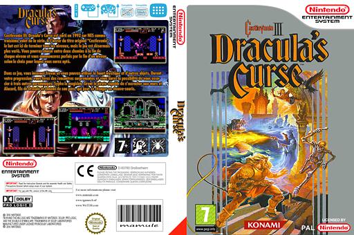 Castlevania III Dracula's Curse pochette VC-NES (FEQP)
