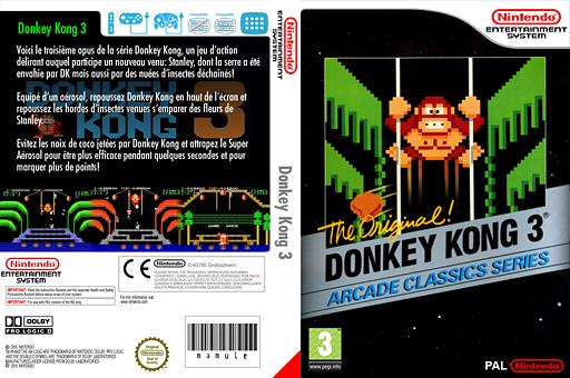 Donkey Kong 3 pochette VC-NES (FEUP)