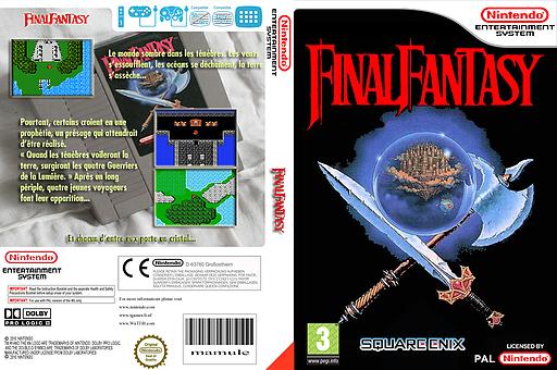 Final Fantasy pochette VC-NES (FFAM)