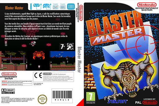 Blaster Master pochette VC-NES (FFMP)