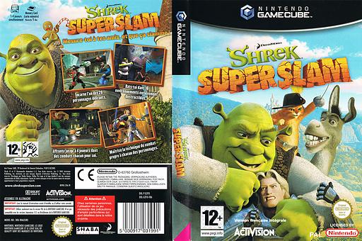 Shrek Super Slam pochette GameCube (G3YX52)