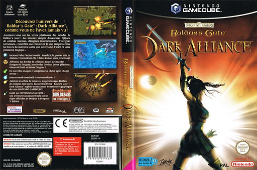 Baldur's Gate: Dark Alliance pochette GameCube (GDEF71)