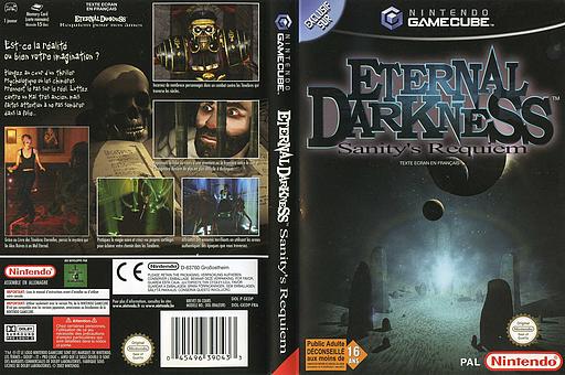 Eternal Darkness: Sanity's Requiem pochette GameCube (GEDP01)