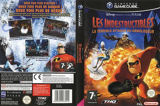 Les Indestructibles:La Terrible Attaque du Démolisseur pochette GameCube (GIQX78)