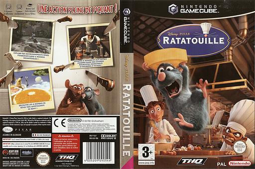 Ratatouille pochette GameCube (GLLF78)
