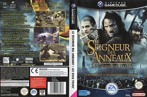 Le Seigneur des Anneaux:Les Deux Tours pochette GameCube (GLOF69)