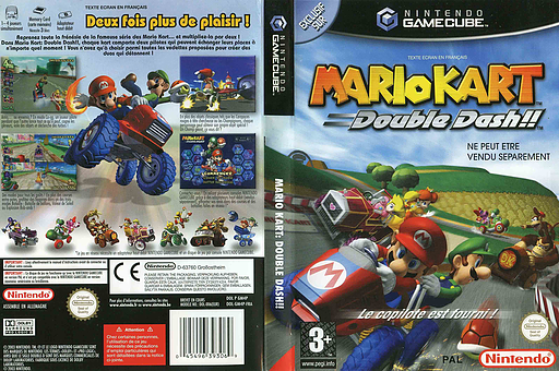Mario Kart: Double Dash!! pochette GameCube (GM4P01)