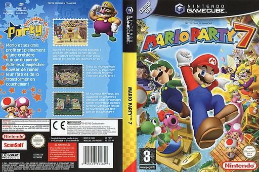 Mario Party 7 pochette GameCube (GP7P01)