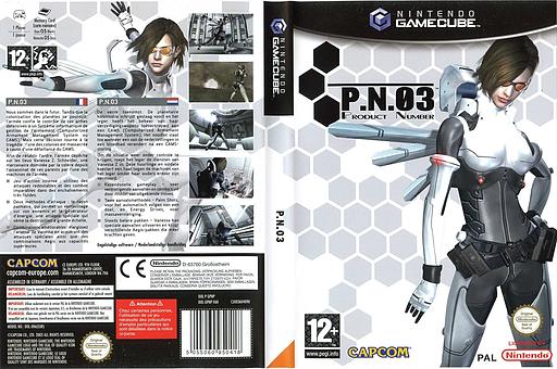 P.N.03 pochette GameCube (GPNP08)