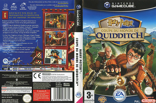 Harry Potter: Coupe du Monde de Quidditch pochette GameCube (GQWX69)