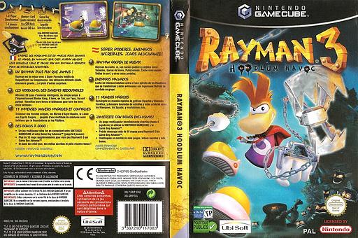 Rayman 3: Hoodlum Havoc pochette GameCube (GRHP41)