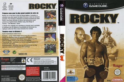 Rocky pochette GameCube (GRKP7G)