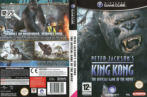 Peter Jackson's King Kong: The Official Game of the Movie pochette GameCube (GWKP41)