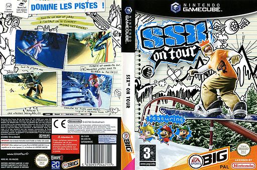 SSX On Tour pochette GameCube (GXOX69)
