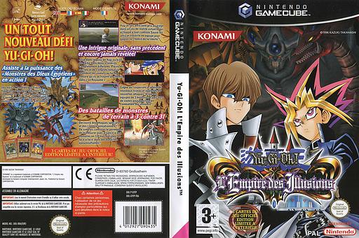 Yu-Gi-Oh! L'Empire des Illusions pochette GameCube (GYFPA4)
