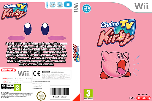 Chaîne Kirby TV pochette Channel (HCMP)