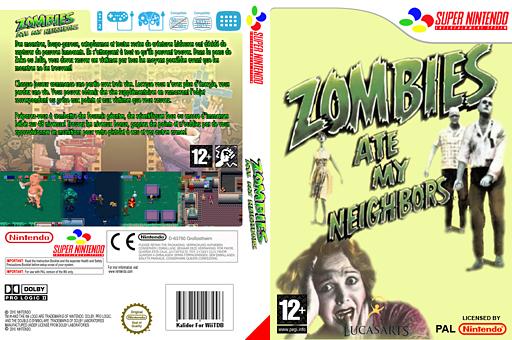 Zombies pochette VC-SNES (JA6P)