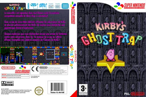 Kirby's Ghost Trap pochette VC-SNES (JBQP)