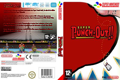 Super Punch Out!! pochette VC-SNES (JCJP)