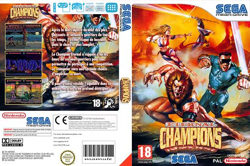Eternal Champions pochette VC-MD (MBZP)