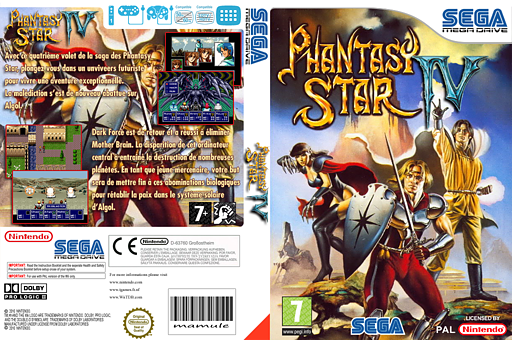 Phantasy Star IV pochette VC-MD (MCKP)