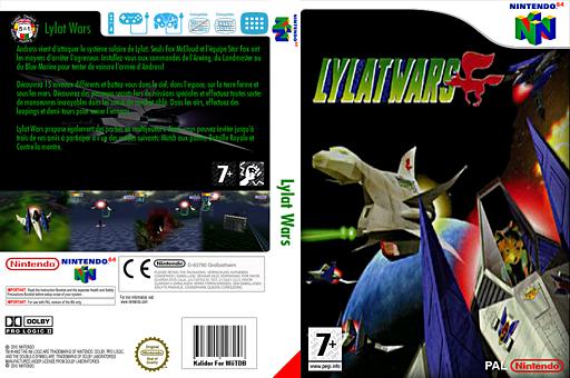 Lylat Wars pochette VC-N64 (NADP)