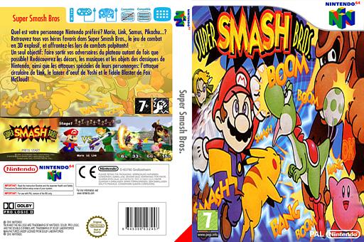 Super Smash Bros. pochette VC-N64 (NALP)