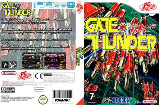Gate of Thunder pochette VC-PCE (QAGP)