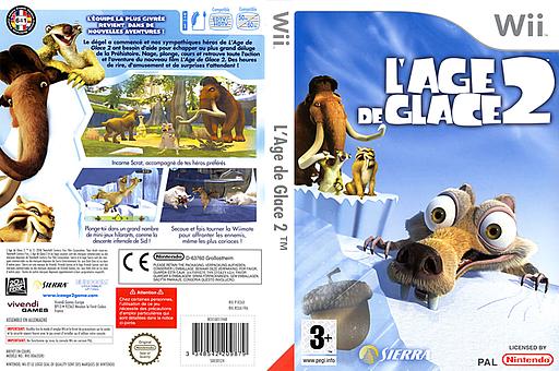 L'Age de Glace 2 pochette Wii (R2AP7D)