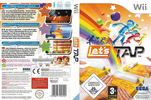 Let's Tap pochette Wii (R2UP8P)