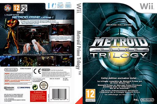 Metroid Prime Trilogy pochette Wii (R3MP01)